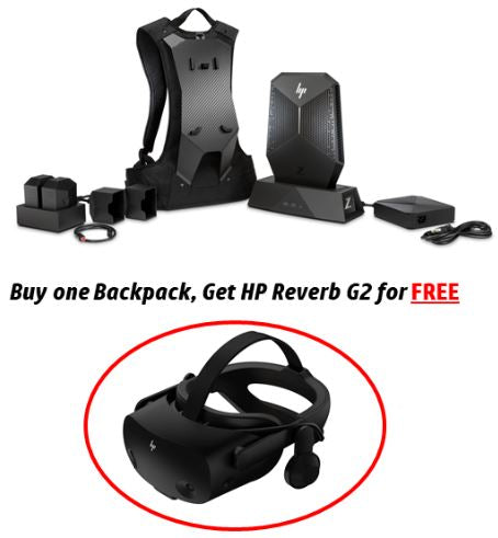 "HP Z VR Backpack G2 with Reverb G2 ""Promo Bundle"""