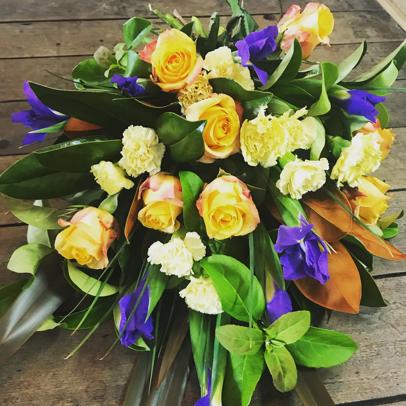 bright flowers sympathy bouquet Tenterfield florist Tenterfield flowers delivery funeral