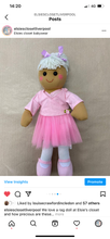 Load image into Gallery viewer, Ballerina Powell and craft rag doll
