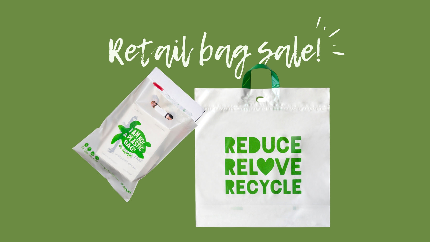 Retail bags priced to clear
