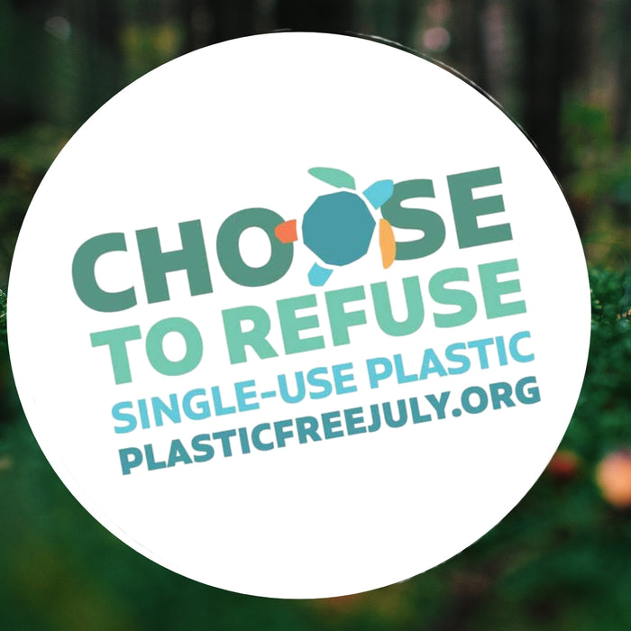 Take the Plastic Free July challenge