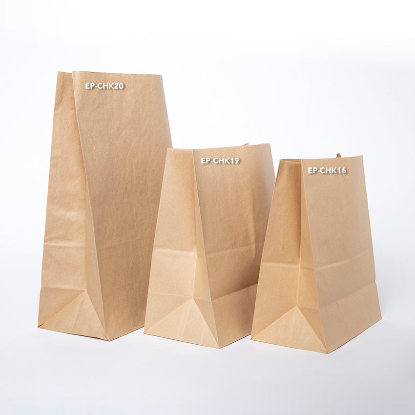 EP-CHK16 Small Checkout Paper Bags - Set of 50