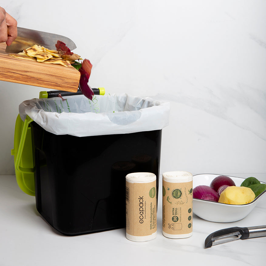 ED-2000-S Compostable/Biodegradable Caddy Liners