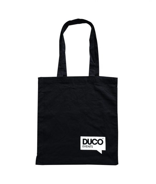 EC-05B Black Calico Promotional Bag