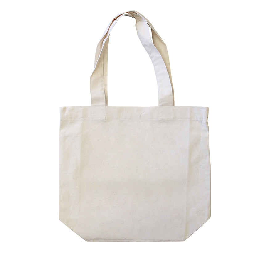 ECV-17 Natural Canvas 'Good Grocer' Tote Bag