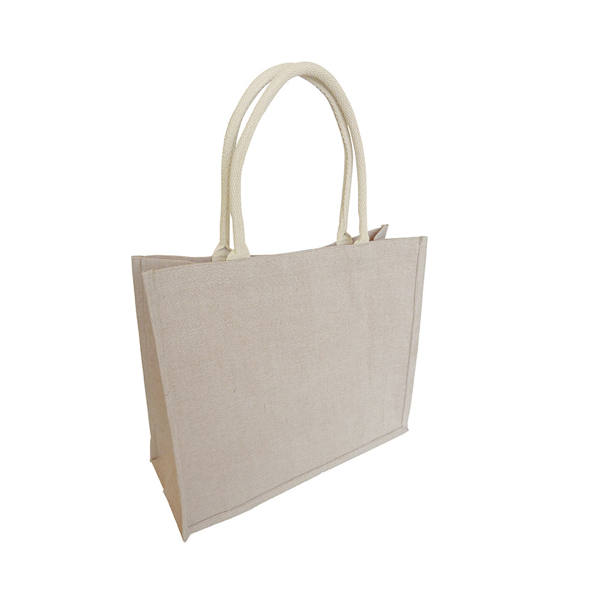 EJ-602 Juco Refined Fabric Blend Reusable Shopping Bag
