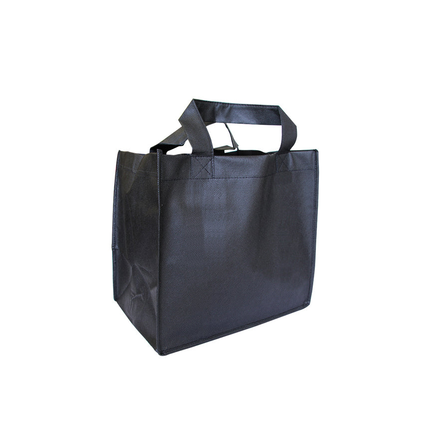 ENW-115 Non-Woven Small Grocery Bag with Extra Wide Gusset