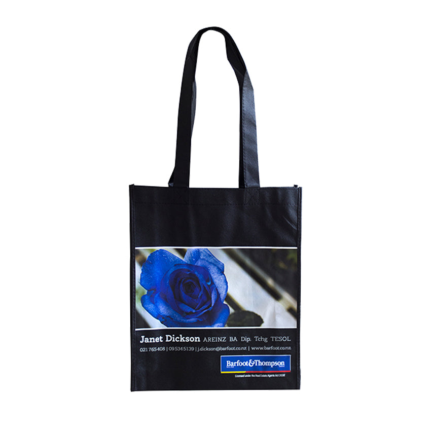 ENW-121 Non-Woven Custom Glossy Heat Transfer Tote Bag