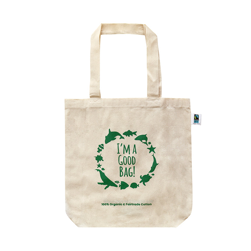 EC-52 Fairtrade Organic Cotton 'I'm a Good Bag'