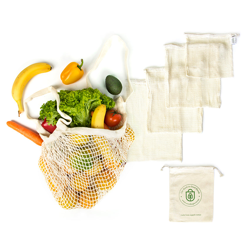 Eco-Set-01 Zero Waste Grocery Set