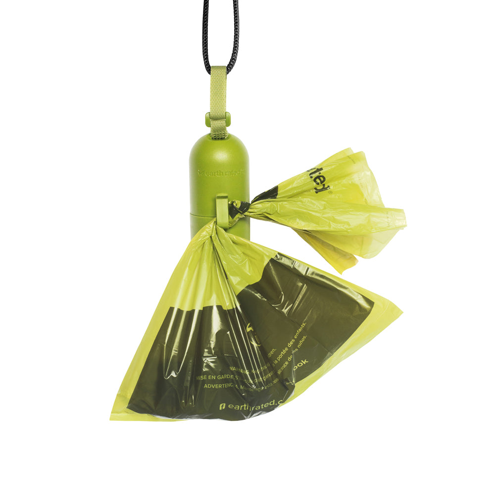 DISPGREEN Earth Rated Dog Poop Bag Dispenser