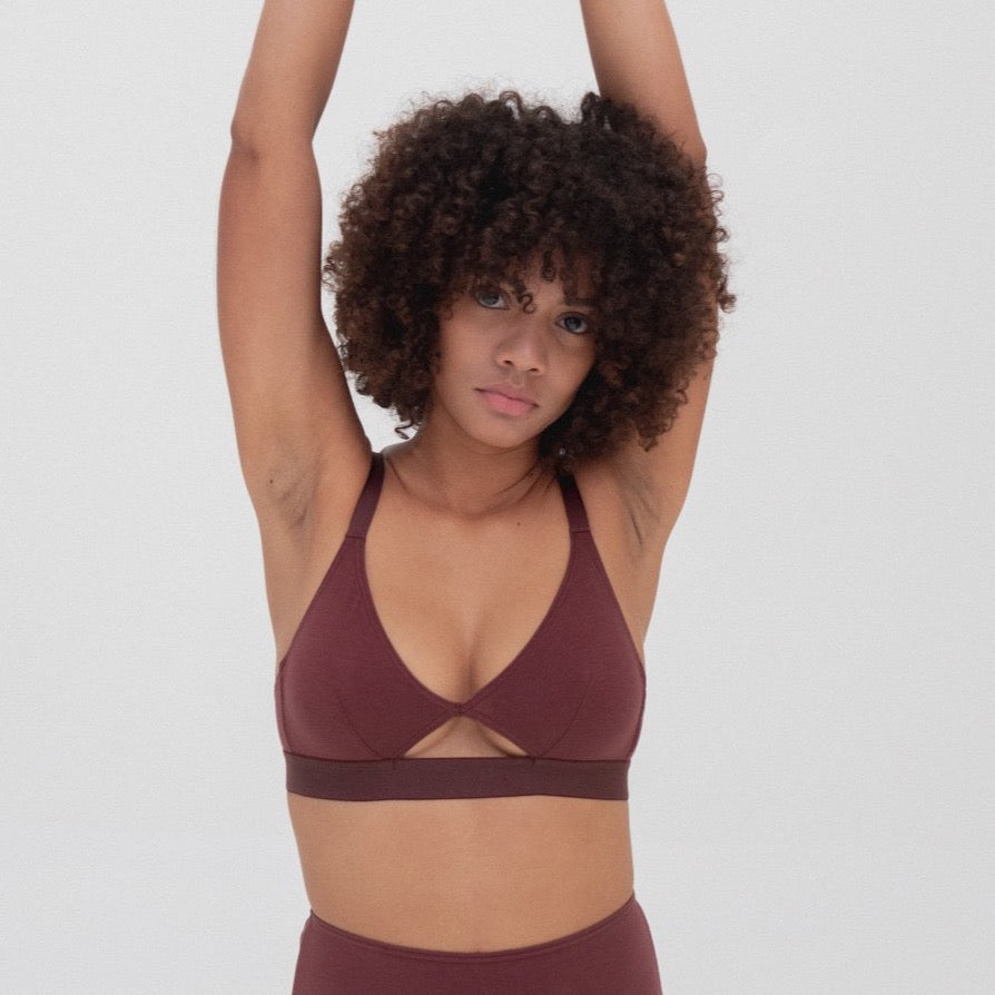 Cut-Out Bra - GOTS Certified Organic Cotton (NEW COLLECTION)