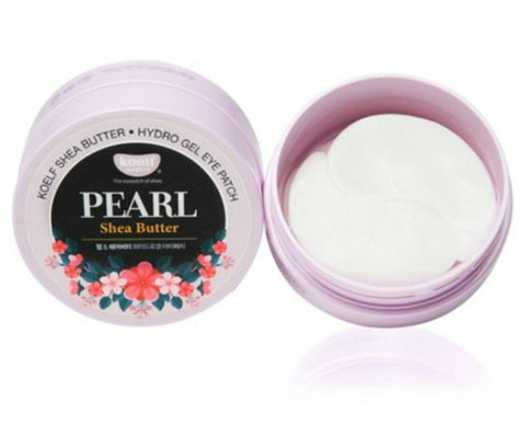 KOELF Pearl Shea Butter Hydro Gel Eye Patch, 60 Patches