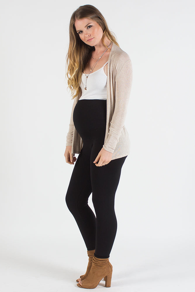 Karlee Cream Maternity Cardigan