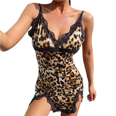 Leopard Sheath Night Dress