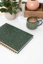 Spiral Notebook - Green Confetti
