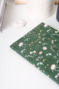 Mini Stitched Notebook - Lively Meadow