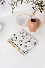 Spiral Mini Notebook - Vintage Flora