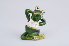 Gymnastic Frog with a White Shirt