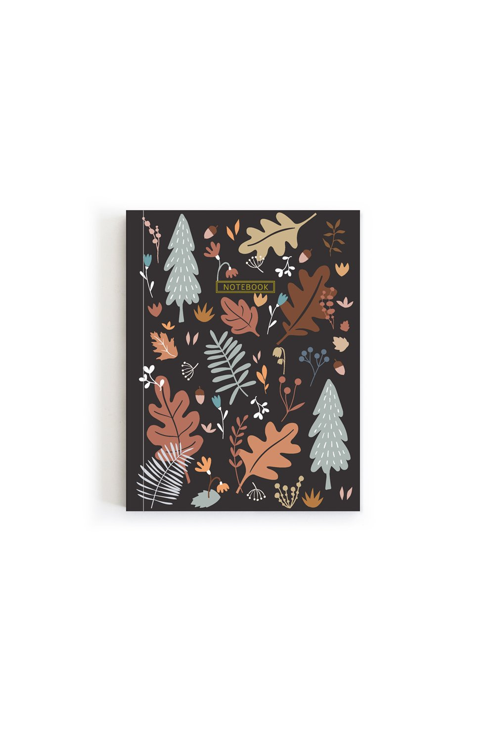 Mini Notebook - Acorn Trail