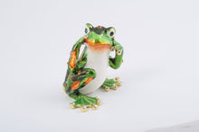Green Frog Hear No Evil