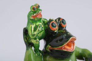 Mother Frog and Baby Frog