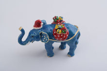 Christmas Elephant with Presents
