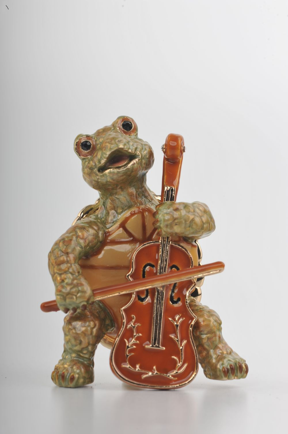 Turtle Playing the Cello