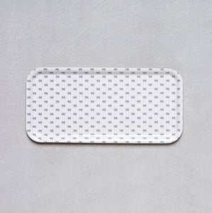 Birch Tray - Black and White Diamonds
