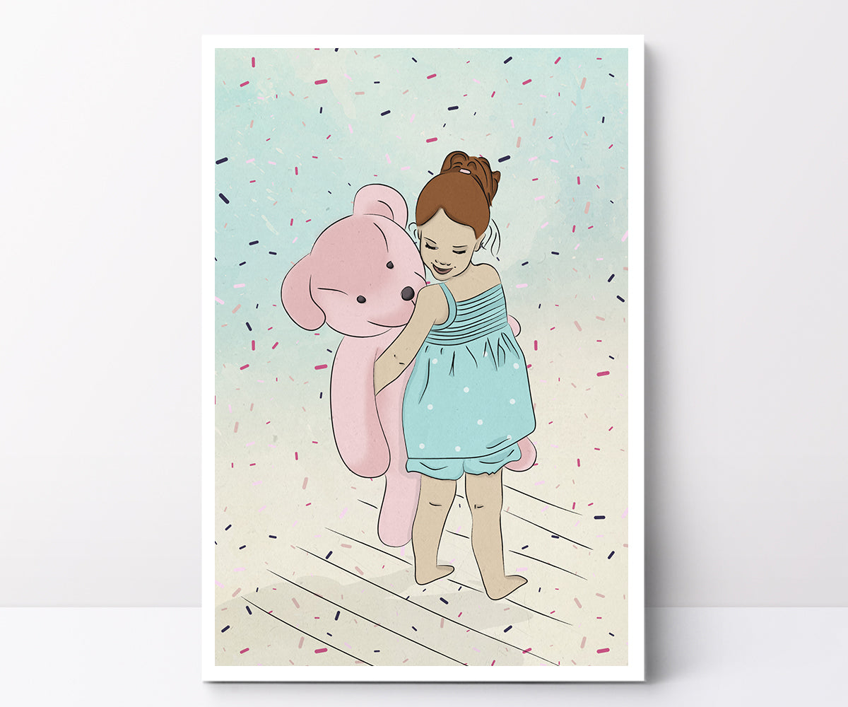Illustrated poster confetti