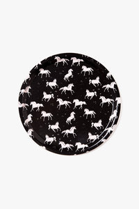 Birch Tray - Galloping Horses Pattern