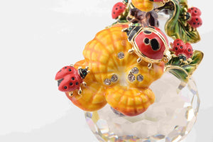 Ladybugs on a Branch