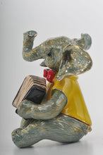 Elephant Playing the Accordion