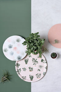 Birch Tray - House Plants Pattern