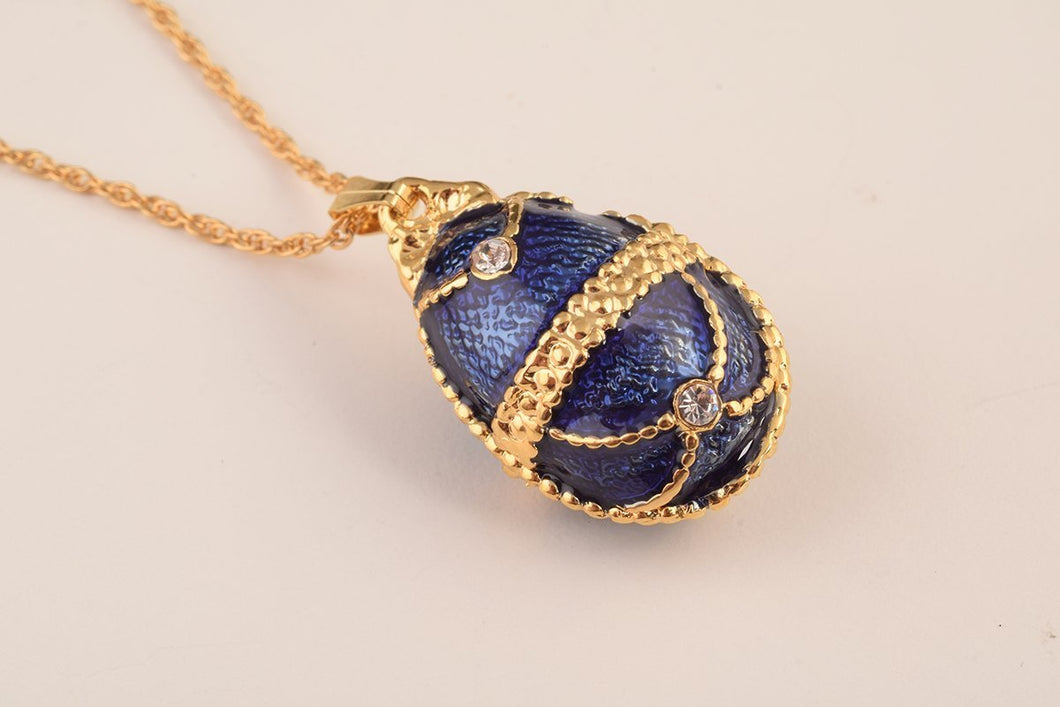 Blue Pendant Necklace