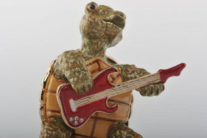 Turtle Playing the Guitar