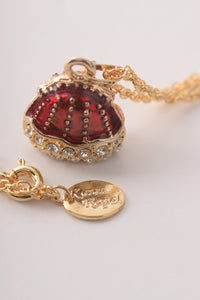 Red Purse Pendant Necklace