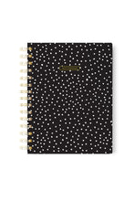 Spiral Notebook - Black and White confetti