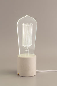 Exposed Concrete Bulb Lamp