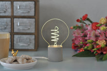 Swirl Desk Bulb Lamp