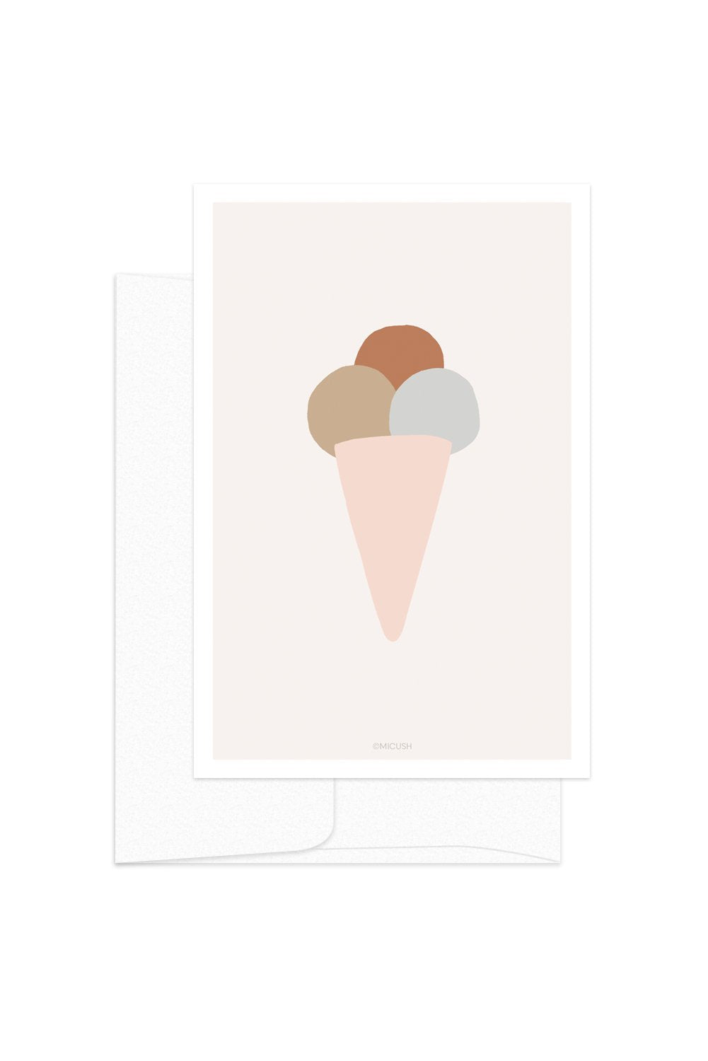 Card - Ice cream