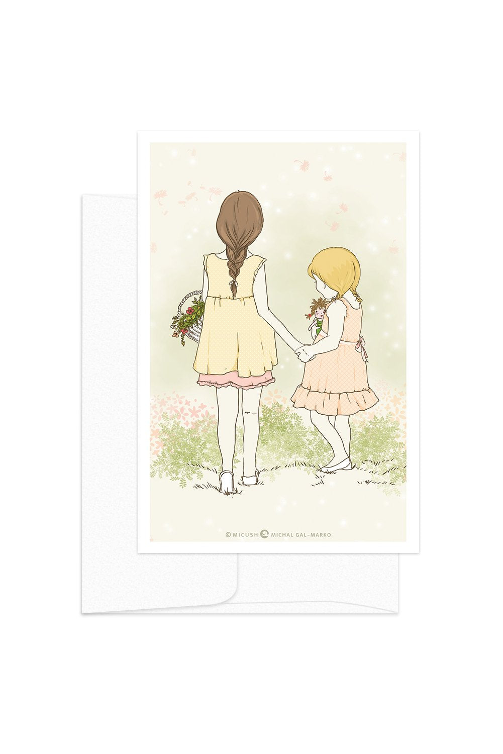 Card - Childhood Moments - Sisters