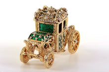 Golden Green Carriage