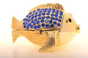 Gold & Blue Fish