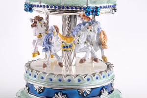 Green Musical Carousel