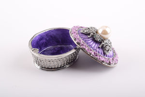 Purple Box with Pearl