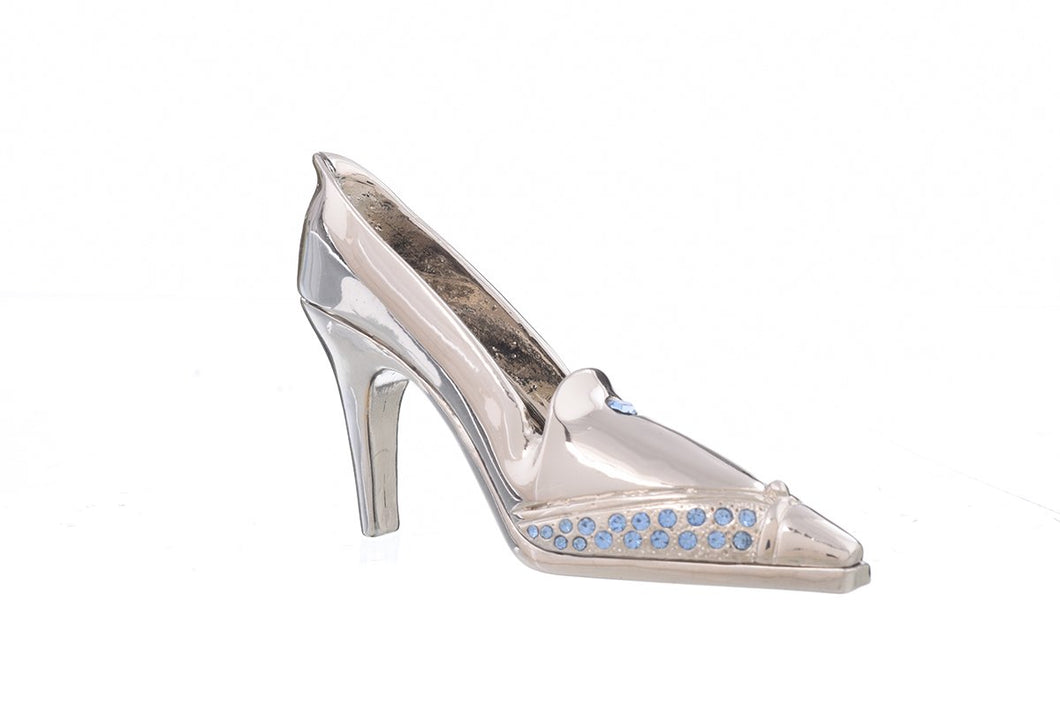 Silver Evening Shoe