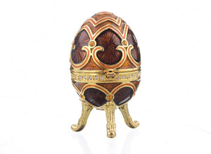 Brown Faberge Egg