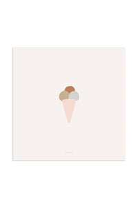Art Print - Ice cream