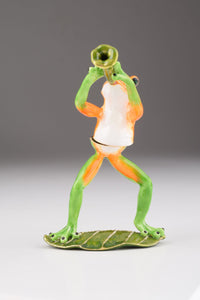 Trumpet Playing Frog